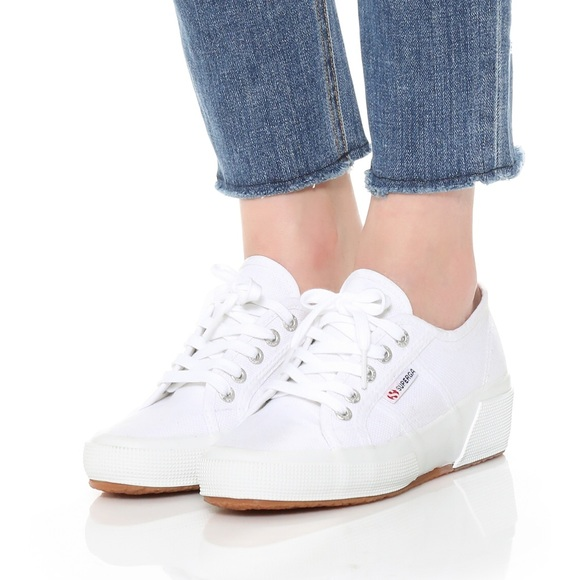 Superga Shoes | Superga Wedge Cotu